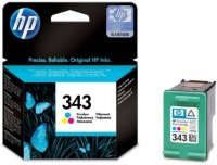 HP 343 Tri-color Original Ink Cartridge (C8766EE)
