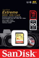 SanDisk SDHC Card 16GB Extreme