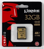 Kingston 32GB SDHC Card Class 10 UHS-1 300X